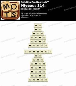 Pro Des Mots Niveau 295 : pro des mots niveau 114 solution game solver ~ Medecine-chirurgie-esthetiques.com Avis de Voitures