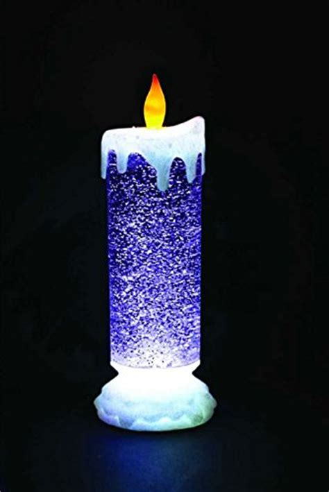 flameless candles decor home - Christmas Flameless Candles