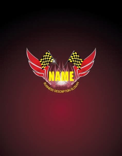 exclusive design buy racing sports logo  business card