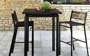 Bar Exterieur Design : bancs tabourets de jardin terrasse et demeureterrasse et demeure ~ Melissatoandfro.com Idées de Décoration