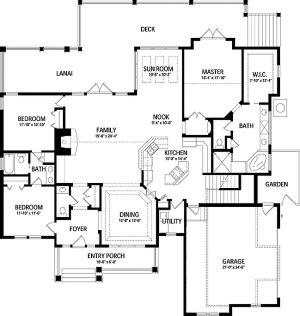 plan lsghd  bedroom  bath log home plan