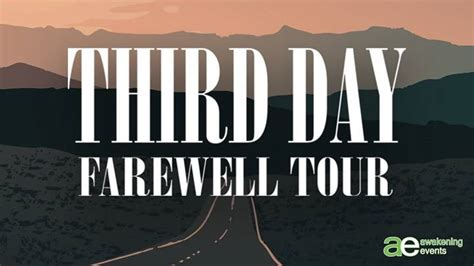 Party - Third Day Farewell Tour - The Fox Theatre in ...