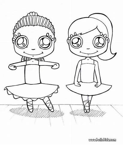 Coloring Dance Pages Ballet Jojo Siwa Dancer