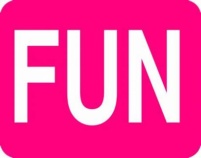 Fun Clipart Clip Word Cliparts Transparent Clker