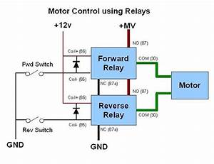 Motor Control Relay Schematic