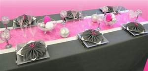 Deco Table Rose Et Gris : d co table rose et gris communion l ane pinterest ~ Melissatoandfro.com Idées de Décoration