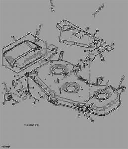 John Deere 60d Mower Deck Parts Diagram