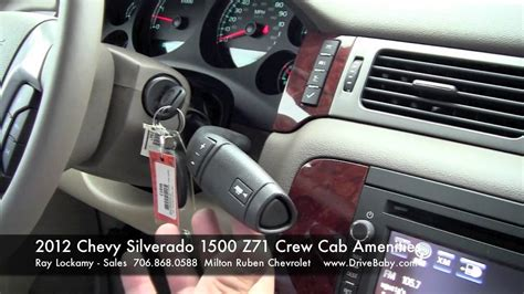 chevy silverado   crew cab features