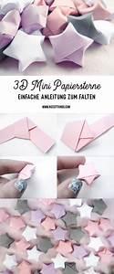 Origami Stern Falten Einfach : diy 3d papiersterne falten anleitung f r origami sterne ~ Watch28wear.com Haus und Dekorationen