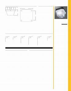 Cooper Lighting Indoor Furnishings Pr Parker User Guide