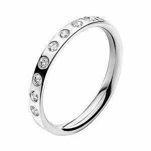 Georg jensen magic 18ct white gold diamond band ring for Georg jensen wedding rings