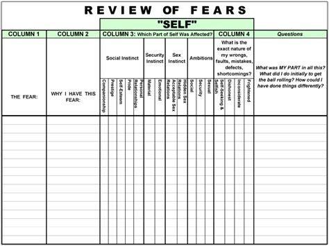 free worksheet 12 steps of aa worksheets phinixi