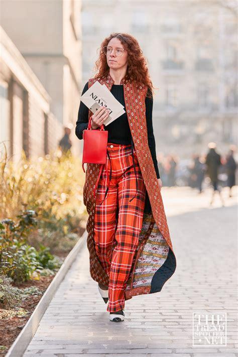 street style  paris fashion week aw