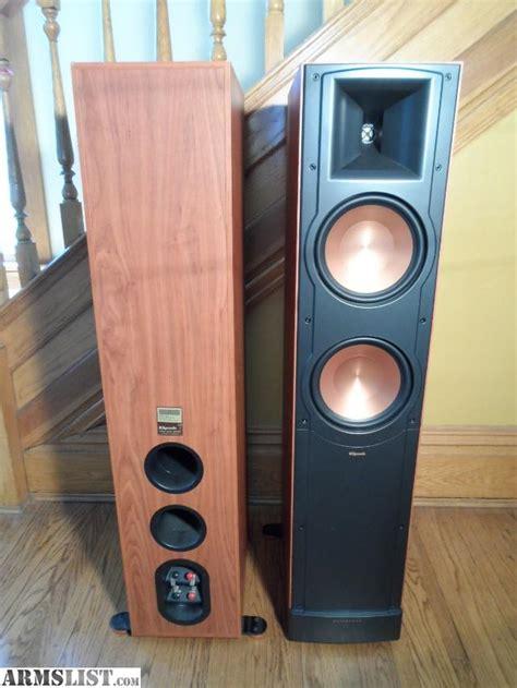 klipsch rf 82 armslist for sale trade klipsch rf 82 floorstanding speakers in cherry finish