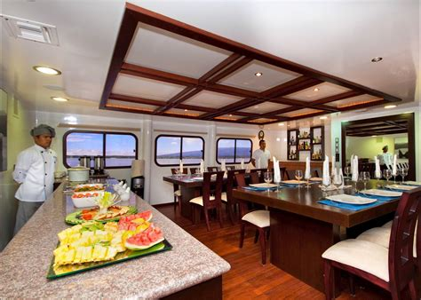 Islands Dining Room by Cormorant Galapagos Cruises Audley Travel