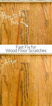 how to repair wood floor scratches fix friday polished habitat