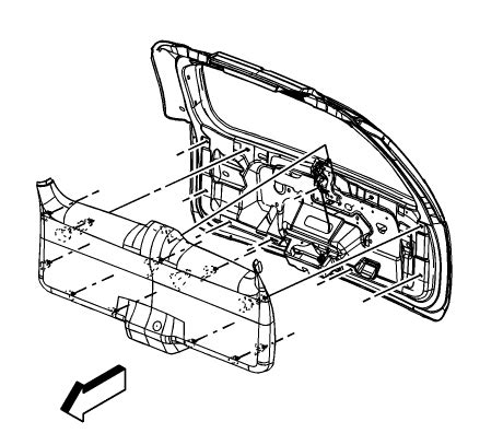 electronic toll collection 1995 lexus es security system service manual how to remove rear hatch trim on a 2010 gmc terrain chrome rear trunk hatch
