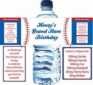 Sports for How to put labels on water bottles