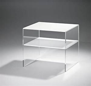 Beistelltisch 50 Cm Hoch : beistelltisch vegas acryltisch tisch aus acryl glas 56 cm transparent weiss ebay ~ Bigdaddyawards.com Haus und Dekorationen