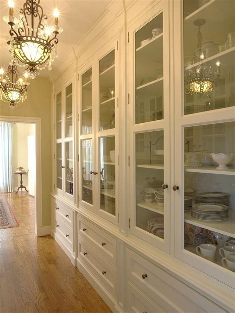 Blooming China Cabinet Ideas with Double sided Cabinets