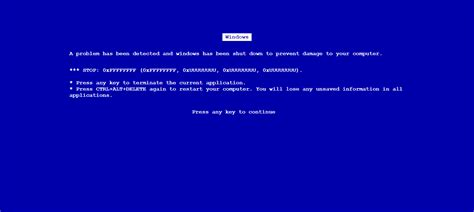How To Make A Fake Blue Screen Of Death In Windows 10