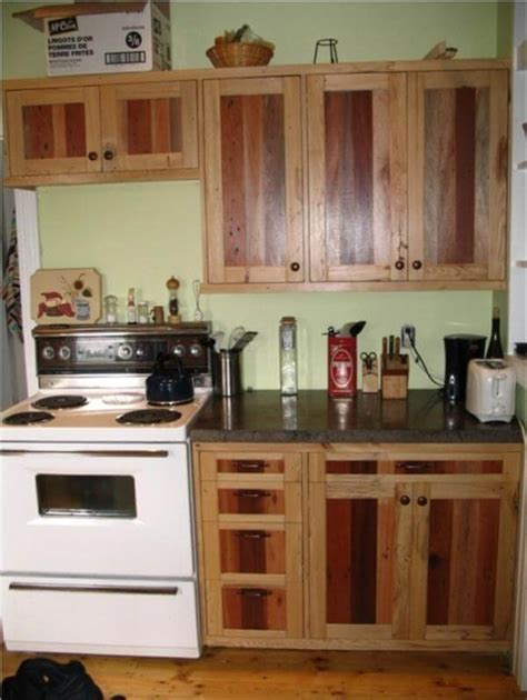 diy kitchen furniture diy pallet kitchen cabinets low budget renovation 99