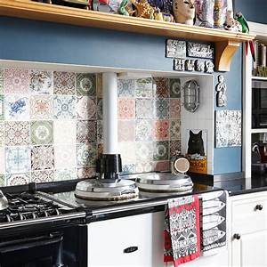 29 top kitchen splashback ideas for your dream home With kitchen colors with white cabinets with penny board logo sticker
