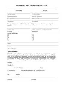 kaufvertrag gebrauchte küche gratis kaufvertrag über gebrauchte einbauküche küche convictorius