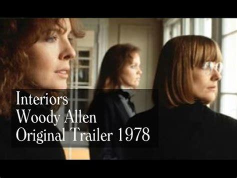 interiors  trailer woody allen diane keaton youtube