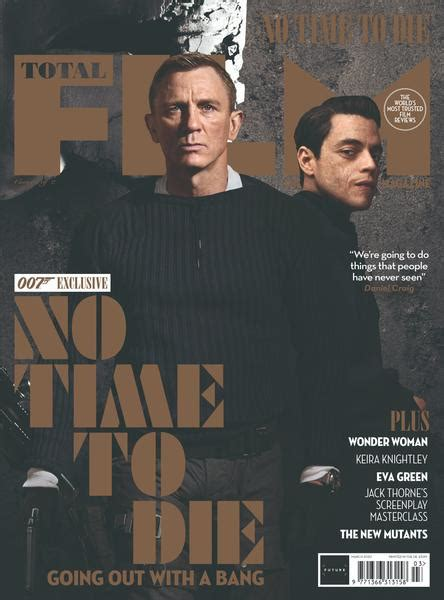 Total Film Magazine April 2020: JAMES BOND: NO TIME TO DIE ...