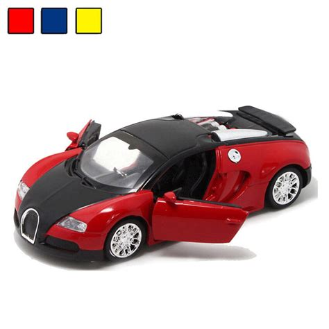 2016 1 36 bugatti veyron alloy diecast toys car light sound gift ebay