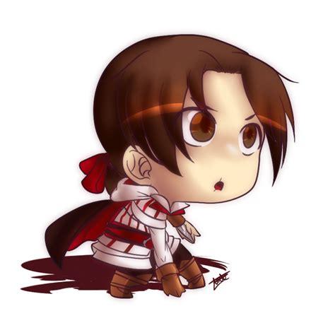 Fan Art Assassins Creed Ezio Chibi By Aude Javel On