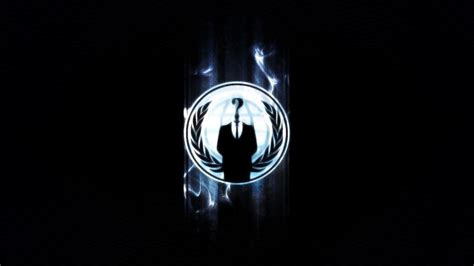 anonymous cool logo background hd wallpaper brands