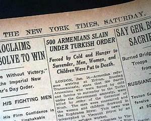 The Armenian Genocide - Francesko Ymeri timeline ...