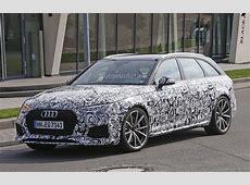Spyshots 2018 Audi RS4 Avant Prototype Looks Very