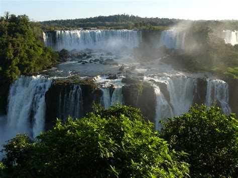Iguazú Waterfalls World Wonder Of Nature