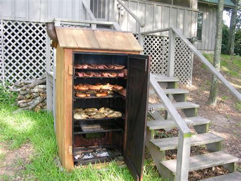 wood workwooden smoker   build diy woodworking