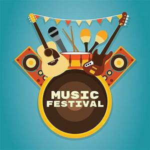 Music Festival Background - Download Free Vector Art ...
