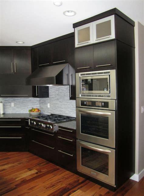 meuble de cuisine pour four le meuble pour four encastrable dans la cuisine moderne