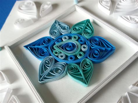 quilling north star papercraft