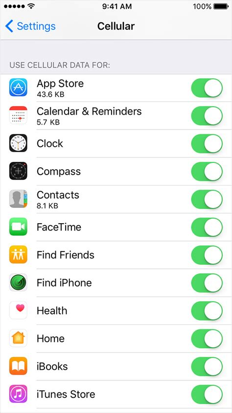iphone cellular data about cellular data settings and usage on your iphone and
