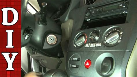 how to replace an ignition lock cylinder 03 06 mitsubishi