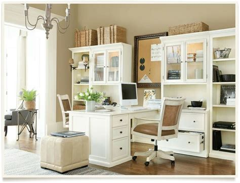 11 Best Images About Home Office (double Desks) On