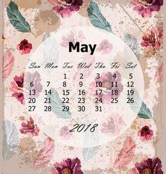 calendar royalty vector image vectorstock