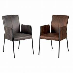 chaise fauteuil pour salle a manger idees de decoration With fauteuils salle À manger pour deco cuisine
