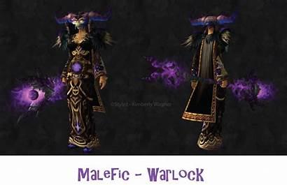 Wow Transmog Warlock Warcraft Unique Transmogs Staff