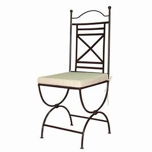 Chaise En Fer Forgé : chaise en fer forg dakhla salle manger classique ~ Dode.kayakingforconservation.com Idées de Décoration