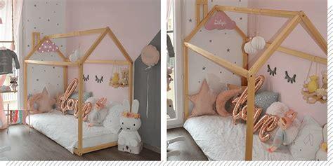 chambre enfants fille chambre enfant le lit cabane décoration créative