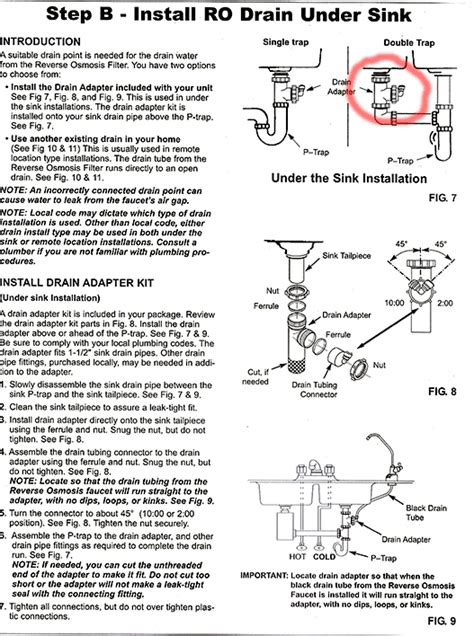 Install Kitchen Sink Drain Plumbing by Plumbing How Can I Install The Drain For My Reverse