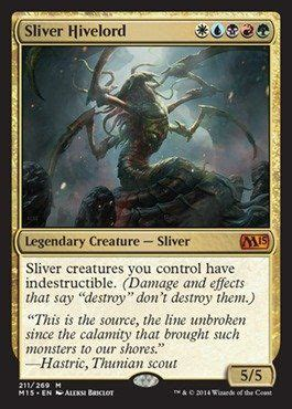 Magic Sliver Deck 2014 by Black Friday 2014 Magic The Gathering Sliver Hivelord